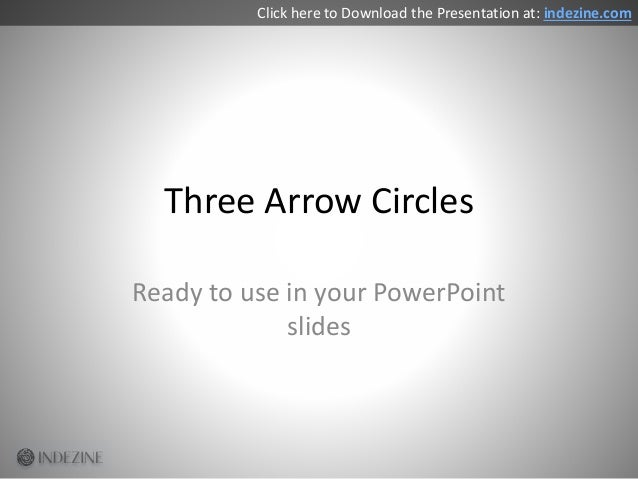 Concept Slides: Arrow Circles Slide 2