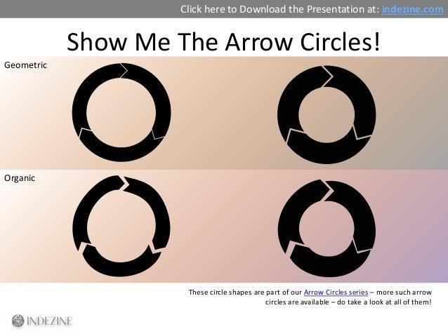Concept Slides: Arrow Circles Slide 3