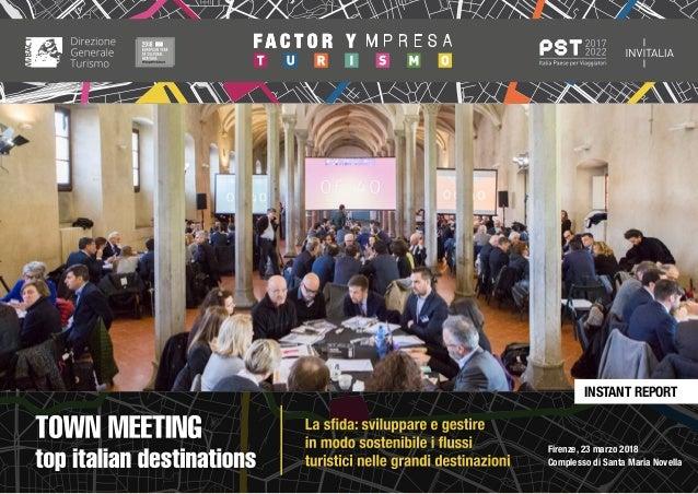 Report Town Meeting Firenze | Top Italian Destinations