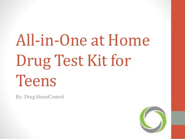 At Home Drug Test >> All In One At Home Drug Test Kit For Teens