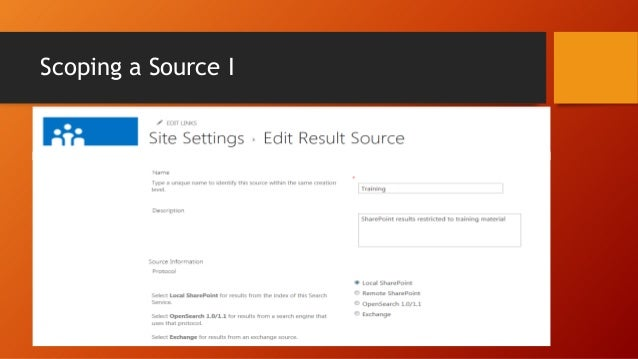 Using the Query Builder  The query template