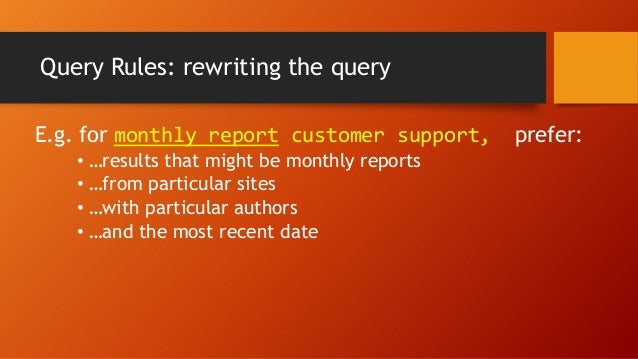 Using the Query Builder: Dynamic Rules