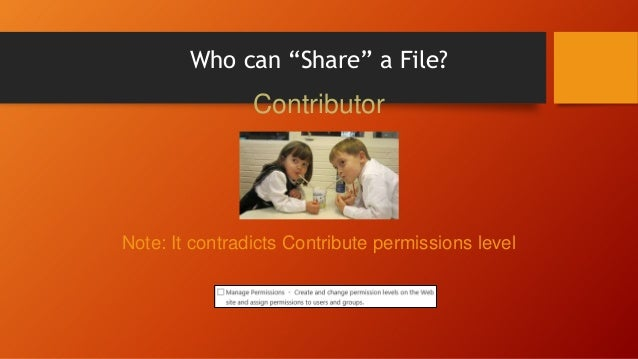 Folder = Physical Location • SharePoint appends all folders into URL • URL encoding applies, e.g.: Space = %20 /Proposal/D...
