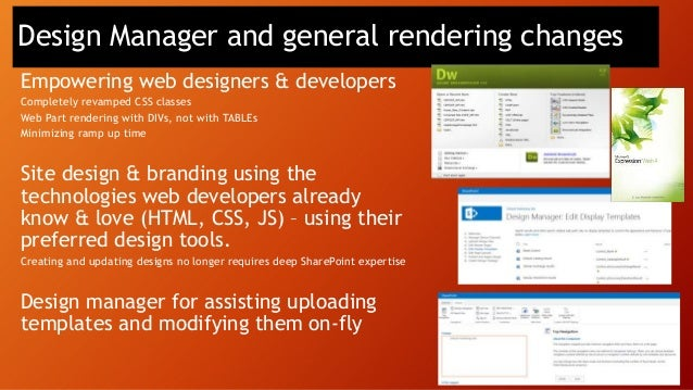 • Built-In Visualization • Excel & Excel Services • Performance Point Services • SQL Integration • Management (via Central...