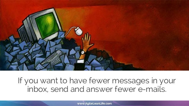Why do you feel guilty if you don't reply all the e-mails? • You want to be seen as a good person • You want all of your e...