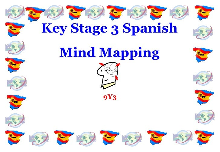 Key Stage 3 Spanish Mind Mapping 9Y3