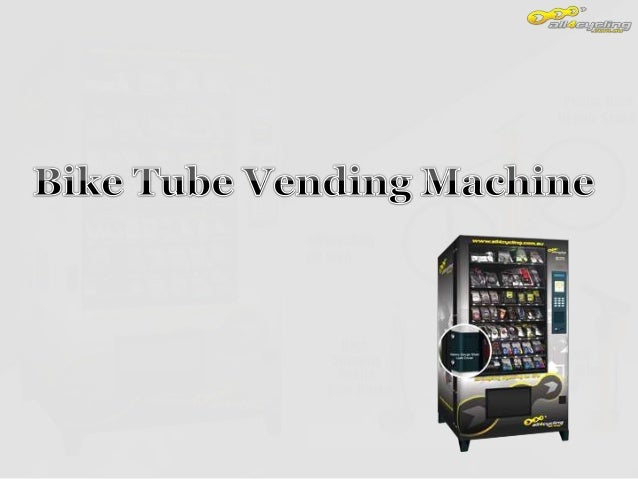 A vending machine is a machine which dispenses items such as bike accessories, snacks, consumer products to customers auto...