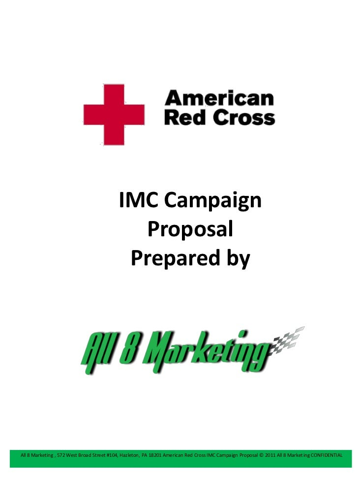 IMC Campaign                                            Proposal                                           Prepared byAll ...