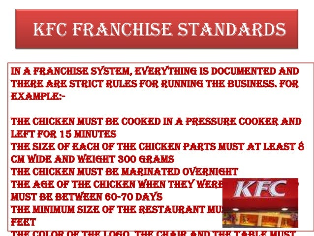 kentucky fried chicken management information system Nutrition facts and information for kentucky fried chicken, crispy chicken strips, analyzed prior to january 2007.