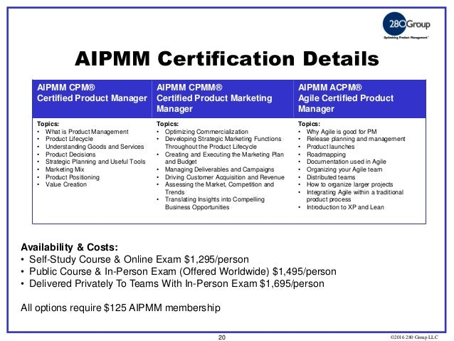 All About Agile Certified Product Management And Product Owner