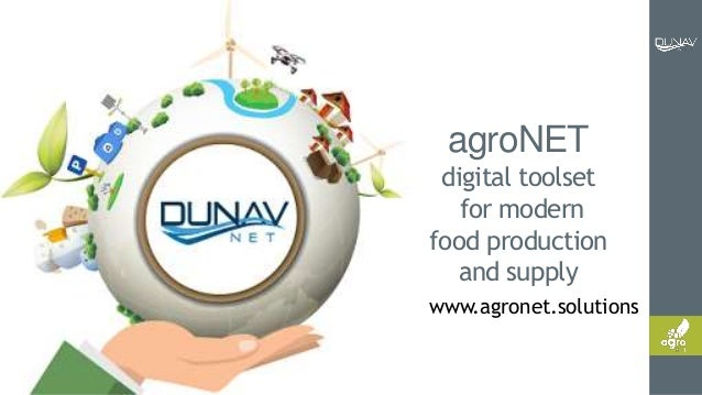 www.agronet.solutions agroNET digital toolset for modern food production and supply