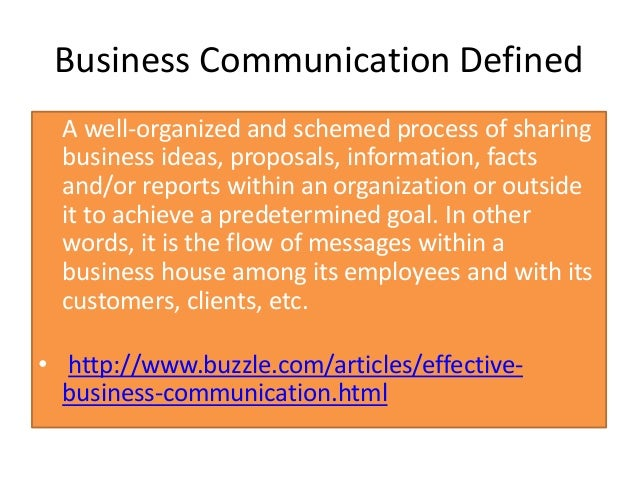 concepts in communication Free essay: five concepts important for successful communication in an organization jaime leigh plym com 425: communication.