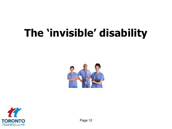 All about disability April 2012