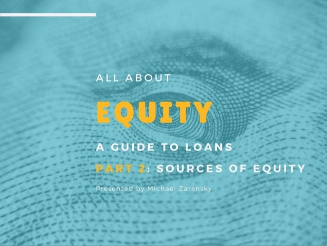 All About Equity, Part 2: Sources of Equity