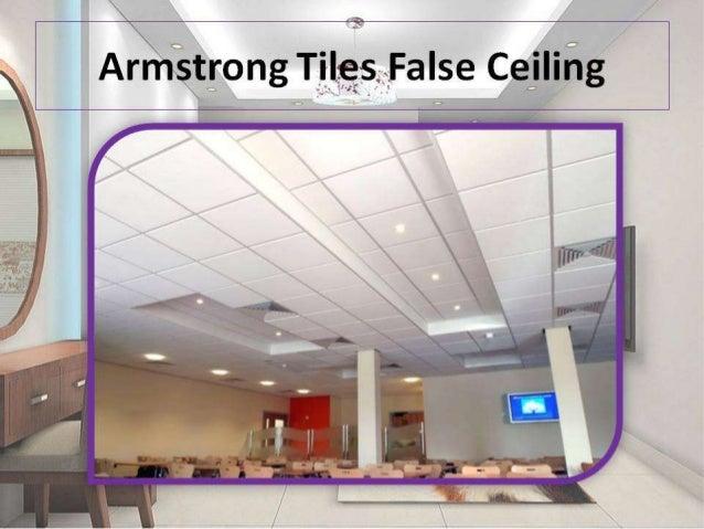 Type of false ceilings for False ceiling types