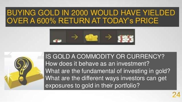Rothbard Model of Gold Pricing