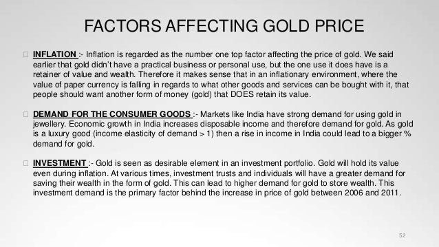 All about gold and gold pricing
