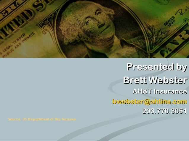 All About HSAs                                          Presented by                                          Brett Webste...