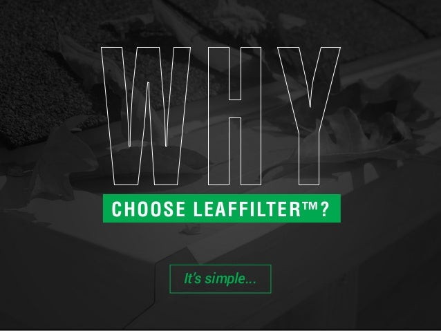 Learn About LeafFilter