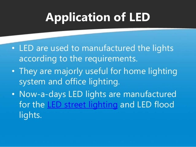 All About Led Light