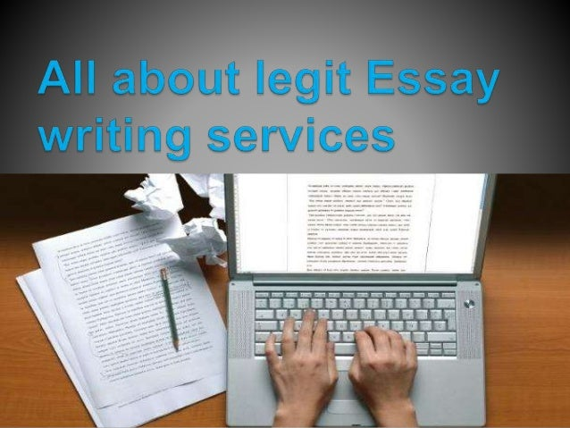 Write my essay legit