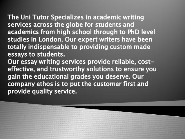 Any legit essay writing services