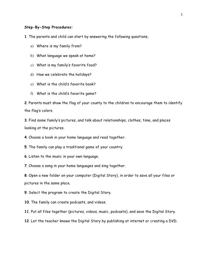 All about my family 39 s lesson plan My family house plans