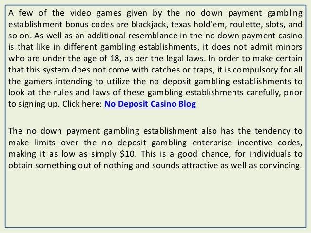 casino paypal minimum deposit codes