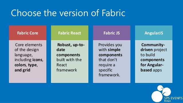 All about Office UI Fabric