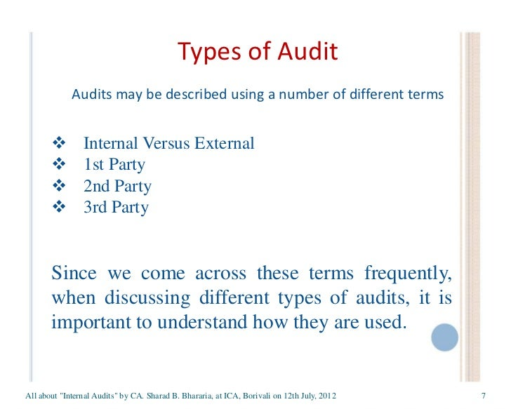how do various forms of auditor Types of audits and reviews the audit process in general, a typical audit includes the following sequential steps: scheduling an opening conference to discuss the audit objectives, timing, and report format and distribution.