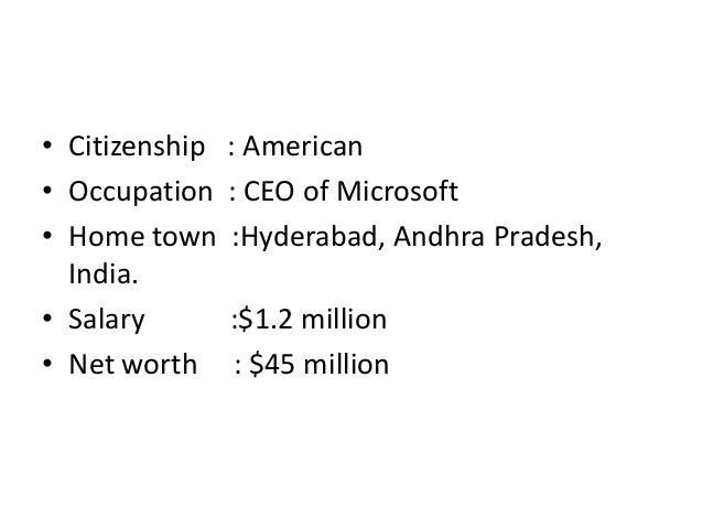 net worth of microsoft
