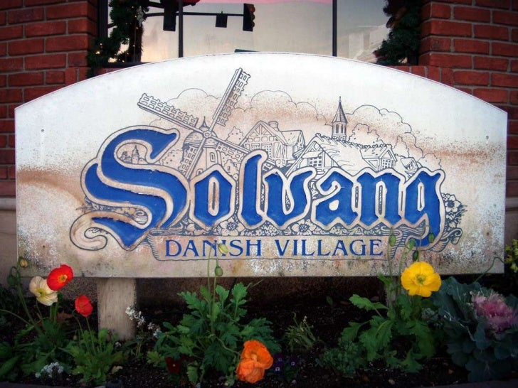 All about Solvang