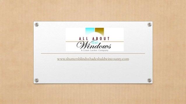 www.shuttersblindsshadesbaldwincounty.com
