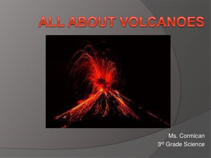 Ms. Cormican3rd Grade Science