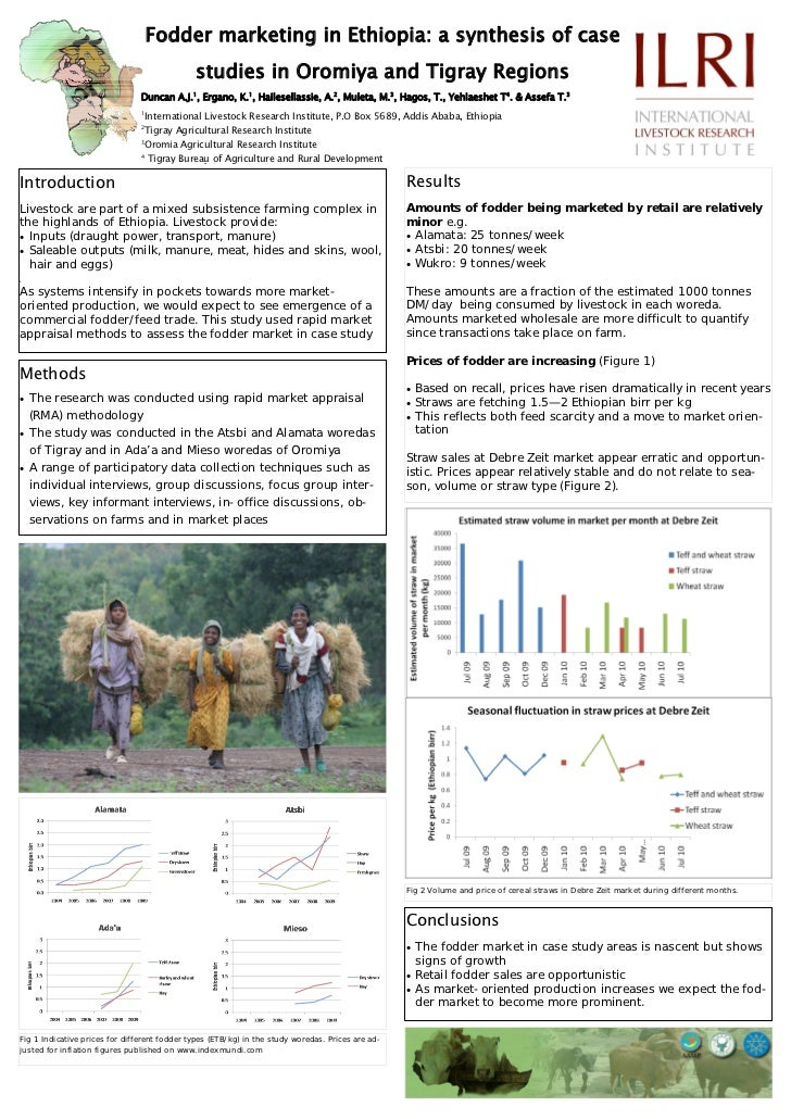 Fodder marketing in Ethiopia: a synthesis of case                                                studies in Oromiya and Ti...