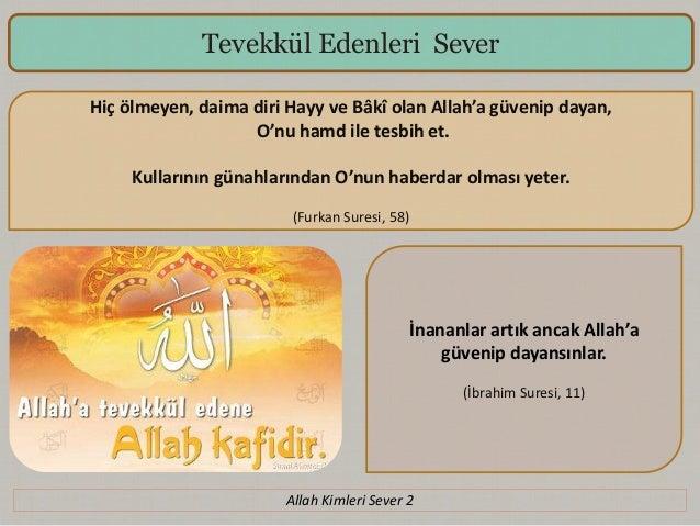 Allah Kimleri Sever 2 Slide 2