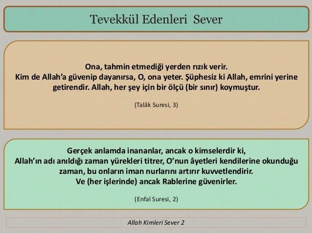 Allah Kimleri Sever 2 Slide 3