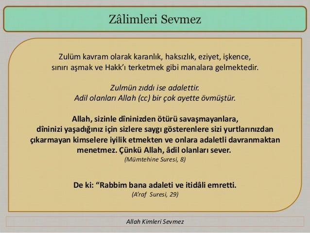 Allah Kimleri Sevmez Slide 3
