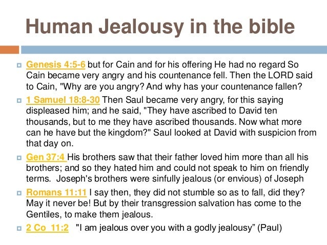 Jealous God  a 'jealous God' is a beautiful picture. A passionate lover who wants our heart, who is faultlessly faithful ...