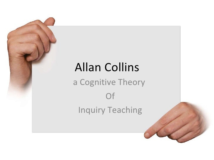 Allan Collins a Cognitive Theory  Of Inquiry Teaching