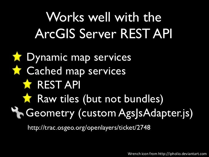 FOSS4G 2011: Mixing It Up with OpenLayers, ArcGIS Server and