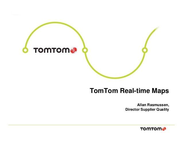 Allan Rasmussen TomTom Maps June 16th 2014 - INSPIRE Conference