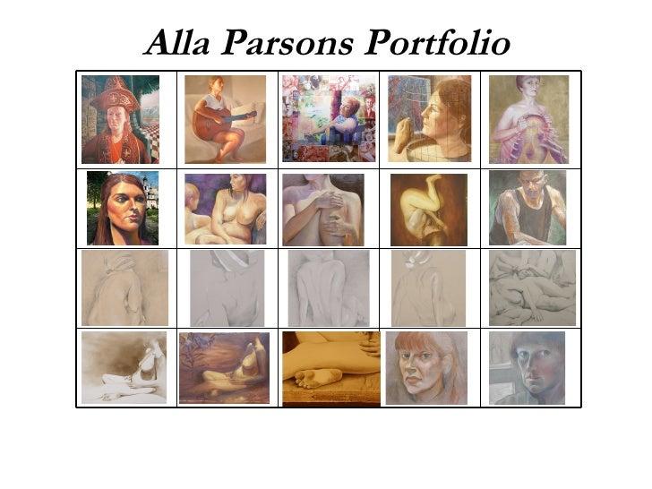 Alla Parsons Portfolio