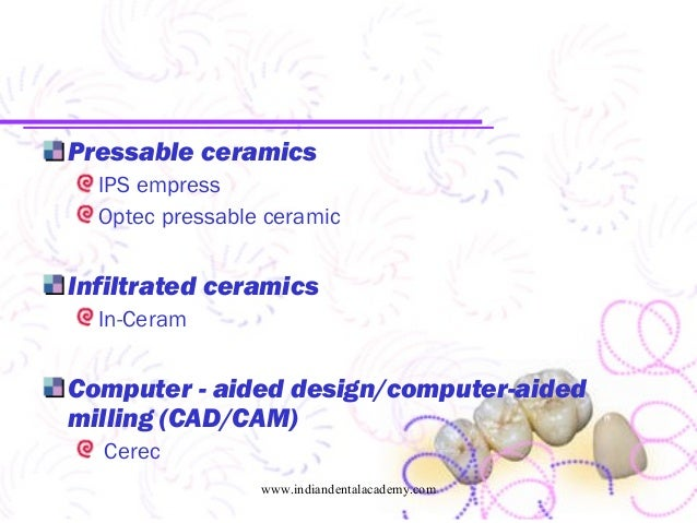 All Ceramics Cosmetic Dentistry Courses