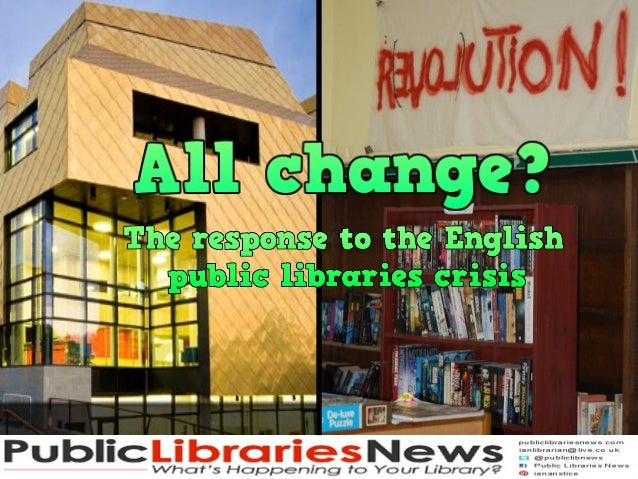 44%Visits drop andfrom 340 million 2005/6 to 315 million2010/11300 less libraries1999/00 to 2010/11Decline before 2010fewe...