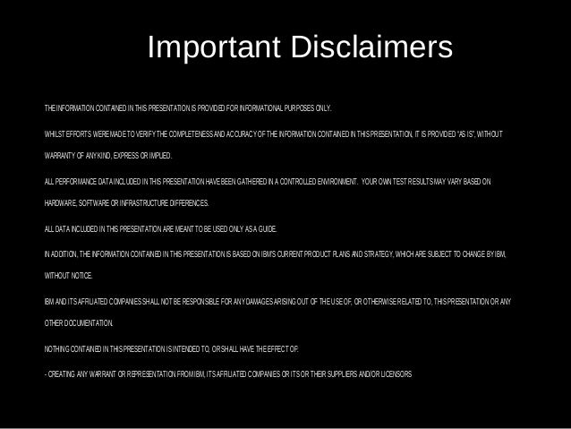 2 Important Disclaimers THE INFORMATION CONTAINED IN THIS PRESENTATION IS PROVIDED FOR INFORMATIONAL PURPOSES ONLY. WHILST...