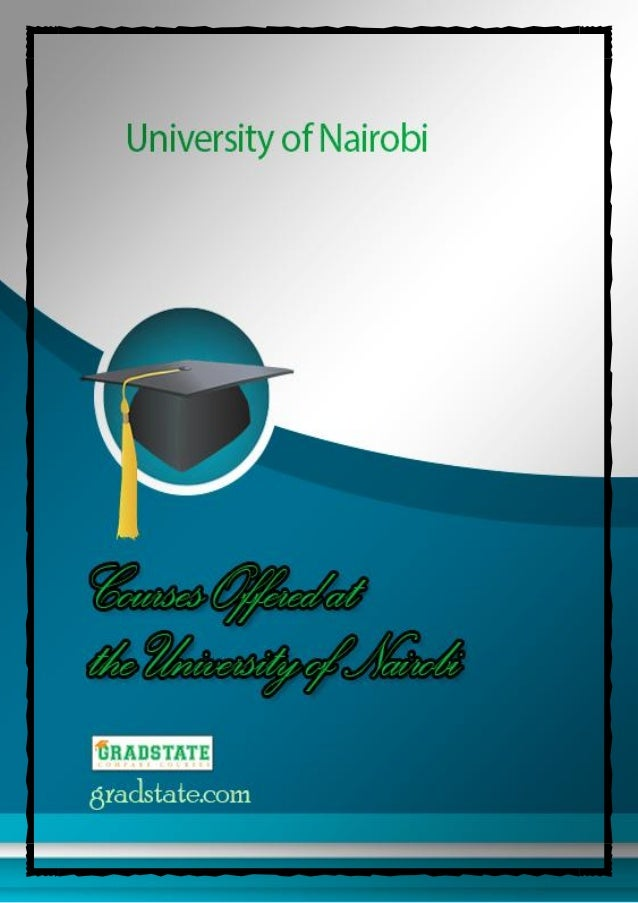 All Courses Offered at the University of Nairobi