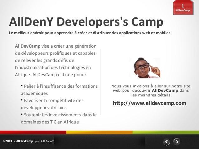 11                                                                                               AllDevCamp               ...