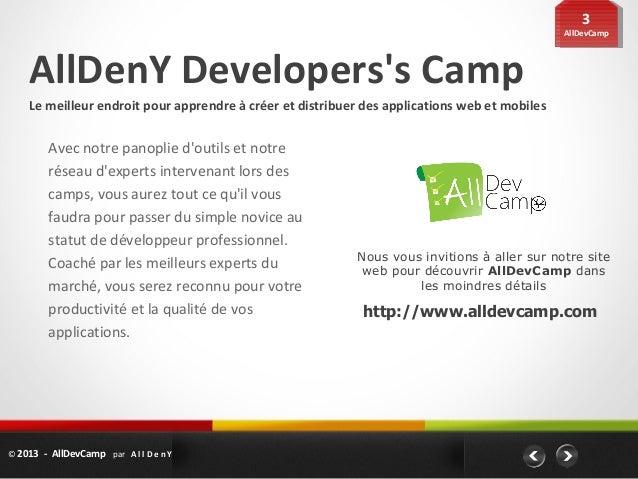 33                                                                                               AllDevCamp               ...