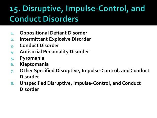 All DSM5 Disorders